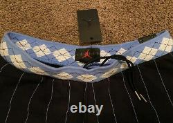 Nike Air Jordan NRG UNC North Carolina Tarheels Fleece Shorts CD0133 010 L Large