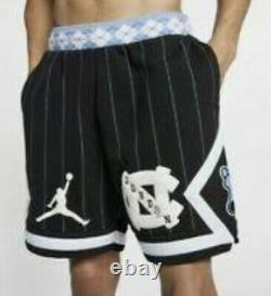 Nike Air Jordan NRG UNC North Carolina Tarheels Fleece Shorts CD0133-010 Men's L