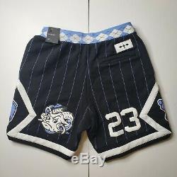 Nike Air Jordan NRG UNC North Carolina Tarheels Fleece Shorts CD0133-010 Men's S