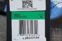 Nike Air Jordan NRG UNC North Carolina Tarheels Fleece Shorts CD0133-010 XL