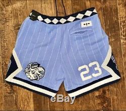 Nike Air Jordan NRG UNC North Carolina Tarheels Fleece Shorts CD0133 448 Sz XXL