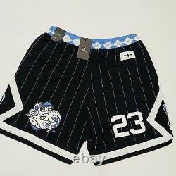 Nike Air Jordan NRG UNC North Carolina Tarheels Fleece Shorts CD0133 XL X-Large