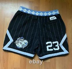 Nike Air Jordan NRG UNC North Carolina Tarheels Fleece Shorts Size XL Just Don