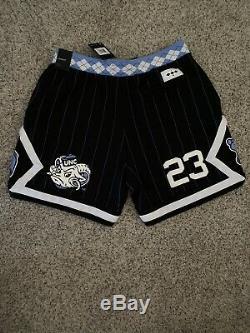 Nike Air Jordan Nrg Unc North Carolina Tarheels Fleece Shorts Cd0133-010 XXL