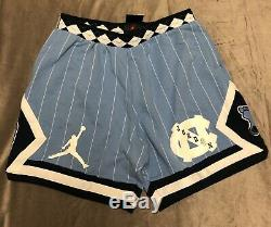 Nike Air Jordan Nrg Unc North Carolina Tarheels Fleece Shorts Cd0133-448 XXL