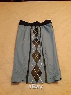 Nike Air Jordan UNC Basketball Shorts North Carolina On Court M Blue Tar Heels