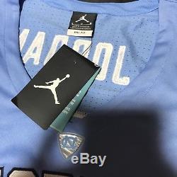 Nike Air Jordan UNC Tar Heels Michael Jordan Jersey DF Blue White Size Large L