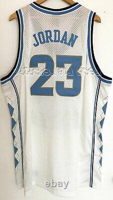 Nike Air Jordan Unc North Carolina Tar Heels Jersey Ncaa Rare Vintage Nwt 3xl