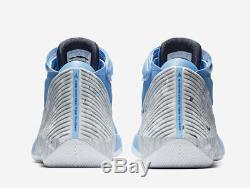 Nike Air Jordan Why Not Zer0.1 University Blue Unc Tarheels Sz 11 Aa2510-402