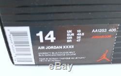 Nike Air Jordan XXXII 32 UNC TARHEELS NC University Blue SZ 14 AA1253-406