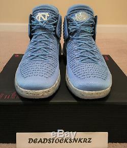 Nike Air Jordan XXXII 32 UNC Tar Heels AA1253 406 Men's Size 12