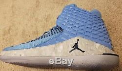 online store 5b00e e87ff Nike Air Jordan Xxxii 32 Unc Tar Heels Color University Blue Aa1253 Size  10.5