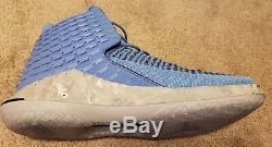 online store d90dd 8d791 Nike Air Jordan Xxxii 32 Unc Tar Heels Color University Blue Aa1253 Size  10.5
