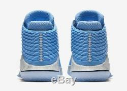 Nike Air Jordan XXXII Sz 10 Unc Tar Heels University Blue Aa1253-406