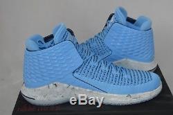 Nike Air Jordan XXXII Unc Tar Heels Shoes Size 12 Univ Blue/navy Aa1253-406