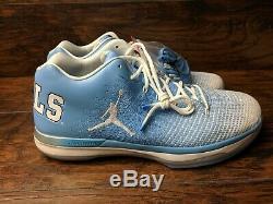 Nike Air Jordan XXXI 31 Low Men's Size 17 North Carolina Tarheels UNC 897564-407