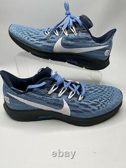 Nike Air Zoom Pegasus 36 CI2084 400 Men 8 UNC Tar HEELS North Carolina JUMPMAN
