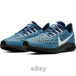 Nike Air Zoom Pegasus 36 Men's Size 11 Sneakers UNC North Carolina Tar Heels