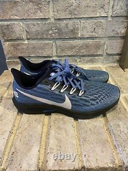 Nike Air Zoom Pegasus 36 UNC North Carolina Tarheels CI2084-400 Mens Size 8