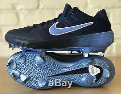 Nike Alpha Huarache Elite 2 Pe Unc Tarheels Metal Baseball Cleats Men's Sz. 10.5