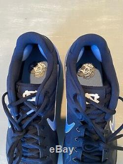 Nike Alpha Huarache Elite 2 UNC Tar Heels Baseball Cleats AV2470-403 Size 12 New