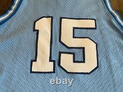 Nike Authentic VINCE CARTER #15 UNC North Carolina Tar Heels Jersey 48 XL