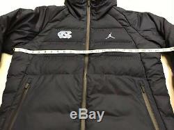 Nike Carolina Tar Heels UNC Air Jordan Aeroloft Down Parka Jacket Mens MEDIUM