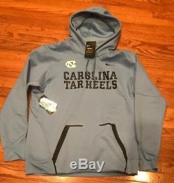 Nike Carolina UNC Tar Heels Champ Drive Vapor Speed Hoodie XL NWT $125 Blue