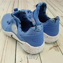 Nike Free TR Trainer 8 UNC North Carolina Tarheels Shoes Size 10 AR0407-400