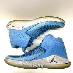 Nike Jordan 32 UNC North Carolina Tar Heels Flight Speed Size 11.5 AA1253 406