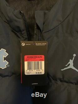 Nike Jordan College AeroShield Vest UNC Tar Heels Men's Sz Large L Navy