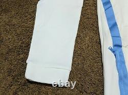Nike Jordan Half Zip Long Sleeve Fleece Hoodie UNC Tarheels AQ8933-100 Sz XL