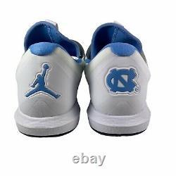 Nike Jordan Trainer 3 UNC North Carolina Tarheels Shoes Blue AR1391-100 Sz 9.5