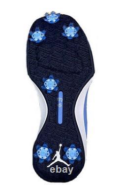 Nike Jordan UNC North Carolina Tar Heels Golf Shoes Golf Spi AR1391-100 Size 9.5