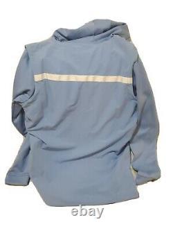 Nike Jordan UNC North Carolina Tarheels Mens 1/2 Zip Fleece Hoodie Aq8933 448
