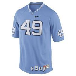 Nike Julius Peppers # 49 UNC Tar Heels Blue Vintage Football Jersey M L XL Mens