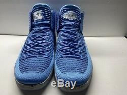 Nike Men's Air Jordan 32 XXXII UNC Tar Heels Blue (AA1253-406)Size 17 US