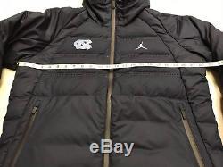 3f467c8a5245 Nike Mens Medium Carolina Tar Heels Unc Air Jordan Aeroloft Down Parka  Jacket