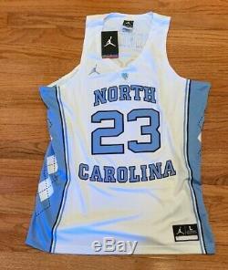 Nike Mens Michael Jordan UNC Carolina Tar Heels Authentic Jersey Large NWT $150
