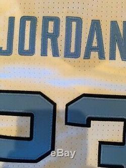Nike Mens Michael Jordan UNC Carolina Tar Heels Authentic Jersey Medium NWT $150