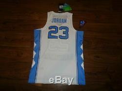 Nike Mens Michael Jordan UNC Carolina Tar Heels Authentic Jersey Mens sizes $150