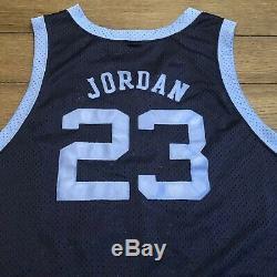 Nike Mens Size 3XL UNC Tar Heels Michael Jordan 1982 NCAA Champions Jersey