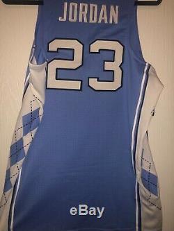 Nike Michael Jordan North Carolina UNC Tar Heels Authentic Jersey M withtags vntg