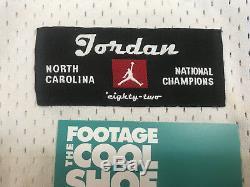 Nike Ncaa Unc Tar Heels Michael Air Jordan 23 1982 Champions Jersey White Xlarge