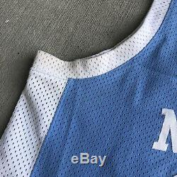 Nike North Carolina Michael Jordan Authentic Jersey 44 Tar Heels College Vtg Unc