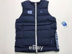 Nike North Carolina Tar Heels UNC Jordan Protect Shield Pullover Vest Mens SMALL