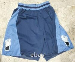 Nike North Carolina Tar Heels UNC Sewn Jordan 1982 Retro Shorts Men's Size Large