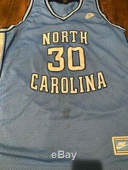 Nike North Carolina Tarheels basketball jersey Blue #30 Rasheed Wallace 3XL UNC