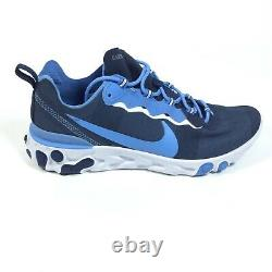 Nike React Element 55 UNC Tar Heels Mens Shoes Sneakers Size 11