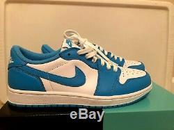 Nike SB Jordan 1 LOW UNC Tar Heel Size 9.5 NIB Shoe